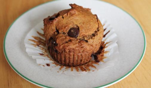 Vegan, Gluten-Free Pumpkin Chocolate Chip Muffin Recipe