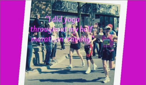 yoga marathon training