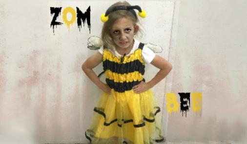 Zombee Halloween Costume