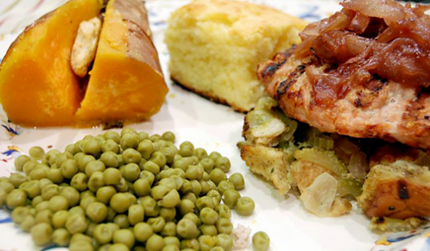 Grilled Thanksgiving Dinner