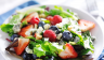 summer salad with mixed berries