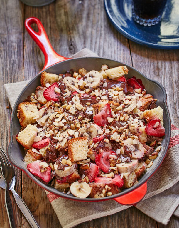 campfire banana splits to make these s mores campfire banana splits ...