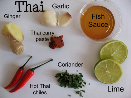 Comfort food with a twist for 8 spices thai cuisine