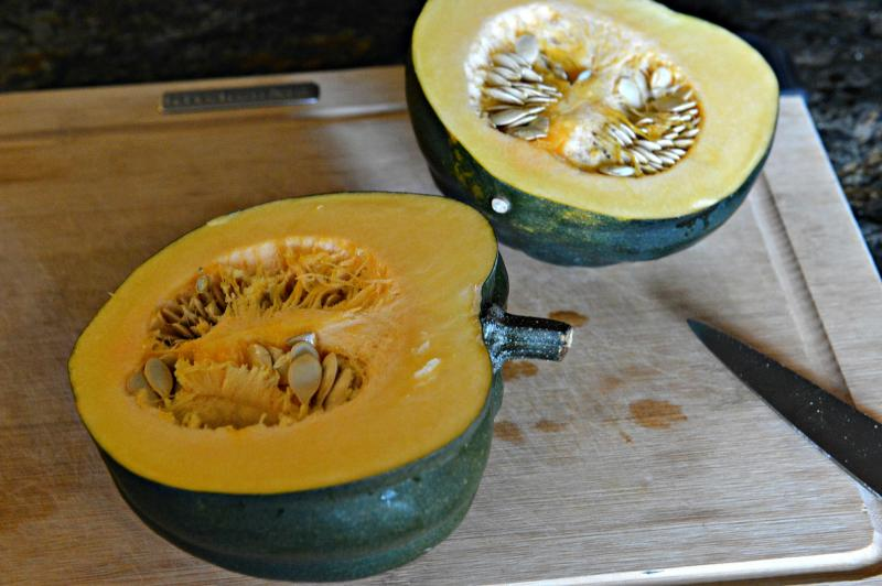 The quick tip to making acorn squash a doable side dish, any night of the week.