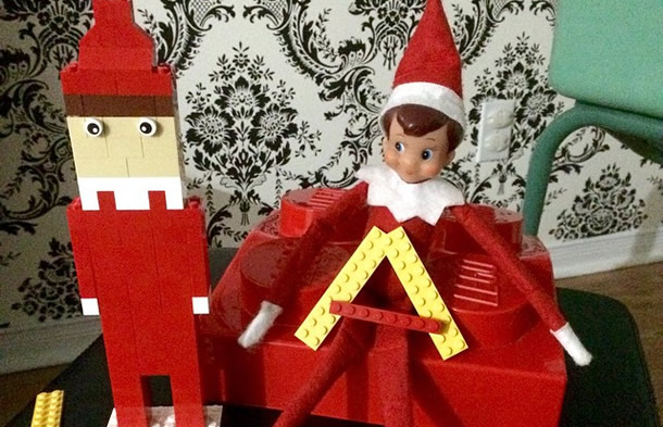 Elf on the shelf humour