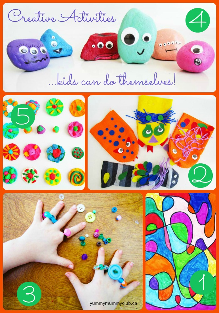 5 Fun Craft Activities To Keep Your Kids Happy And Busy
