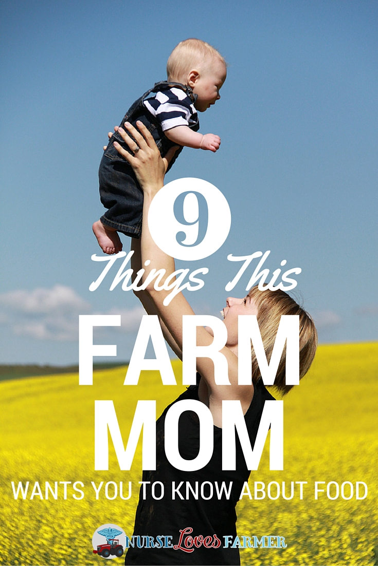 What a farm mom wants you to know