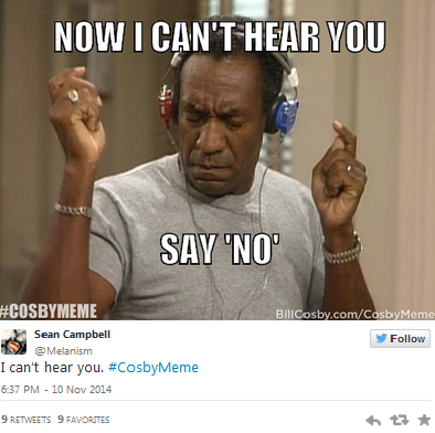 Bill COsby, Meme Fail