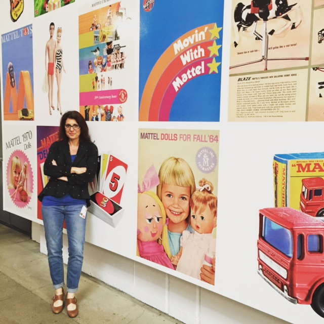 Erica Ehm at Mattel for Barbie Advisory Meeting