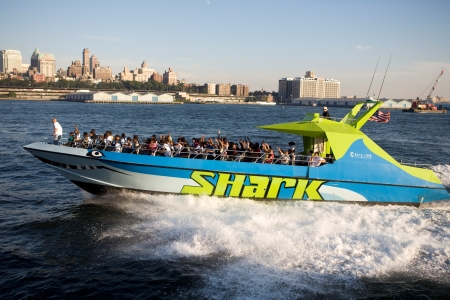 Shark Speedboat Thrill Ride in NYC
