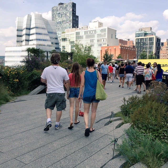 Walk the High Line in NYC