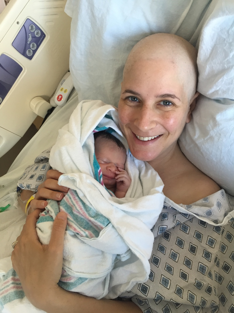 Breast cancer diagnosis while pregnant