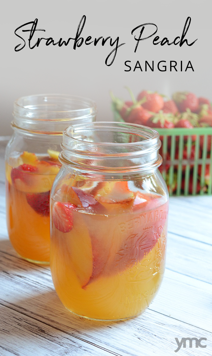 This Strawberry Peach Sangria Will Up Your Patio Party ...