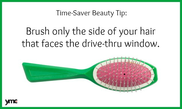 Time Saving Beauty Tip