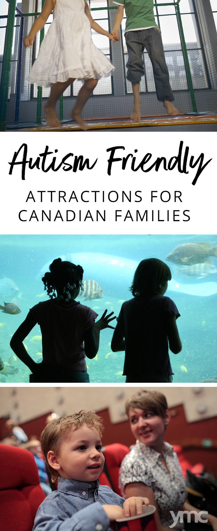 Going out for family fun can be a challenge when your child is autistic. Here's a list of autism friendly attractions in Ontario and Canada that can help make planning easy! | YMC