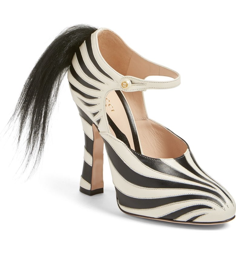 gucci zebra shoes. i think i\u0027d actually go with the tortured silk gucci woodland creature, because at least know wouldn\u0027t fall to my death if fell over. zebra shoes