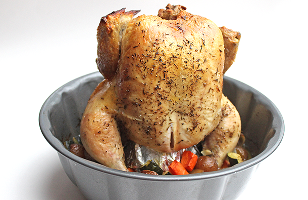 This Bundt Pan Chicken Dish Looks Wacky To Prepare But