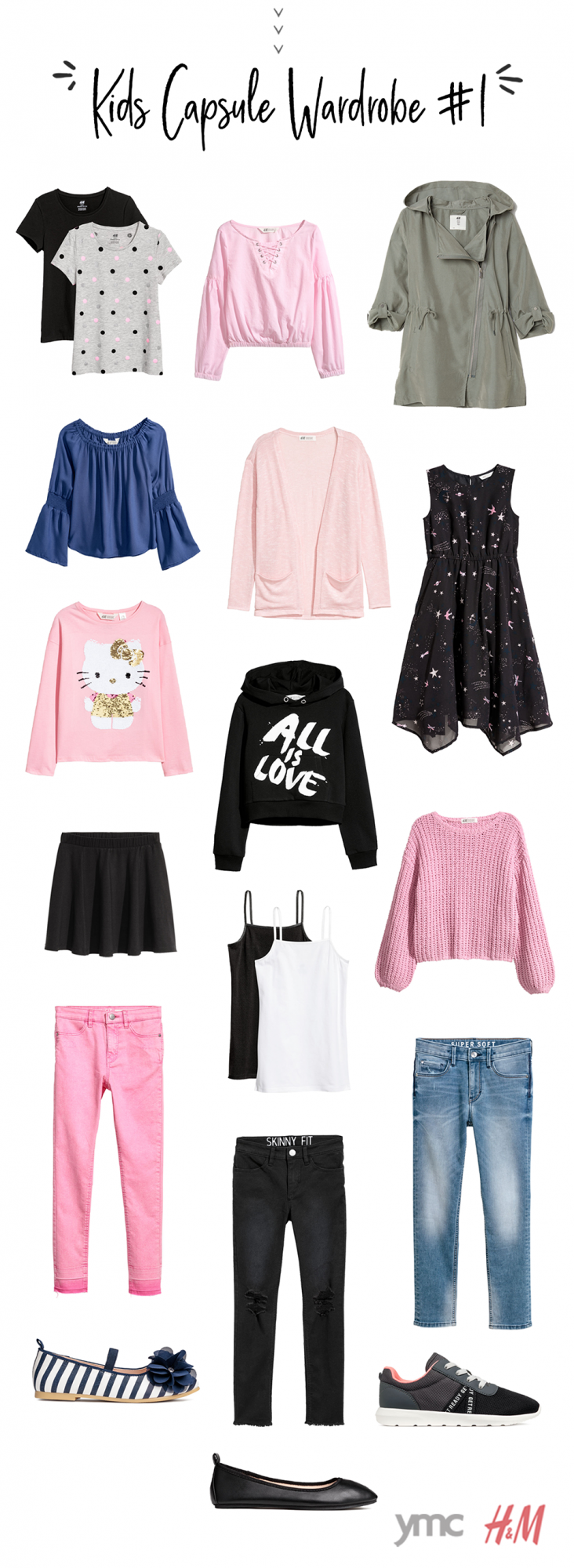A Capsule Wardrobe For Your Kids Is Your Answer To Good Mornings