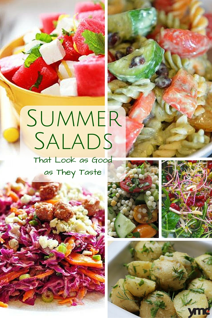Turn the BBQ on its head this summer by choosing one of these summer salads that look amazing... and taste even better. | YMCFood | YummyMummyClub.ca
