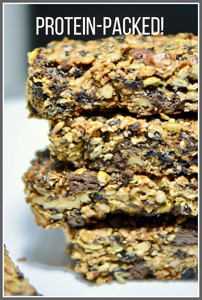 Perfect protein power bars