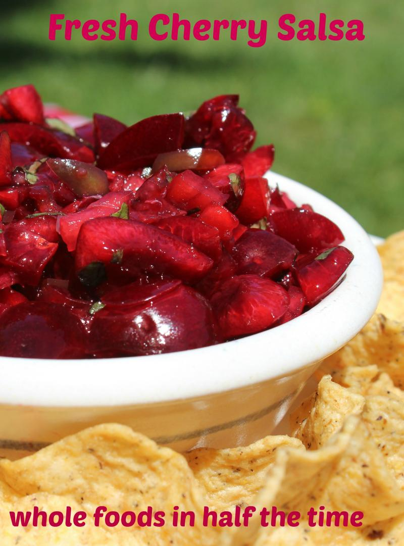 No Measure Cherry Salsa | YummyMummyClub.ca