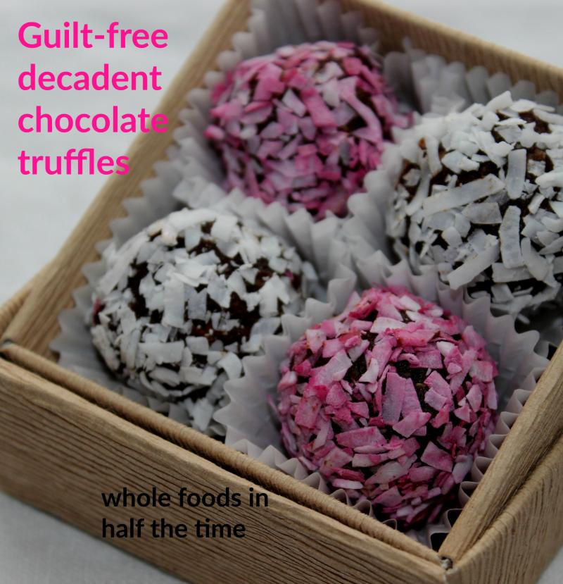 This easy decadent truffle dessert is gluten free, has no refined sugar, and no guilt!  | YMCFood | YummyMummyClub.ca