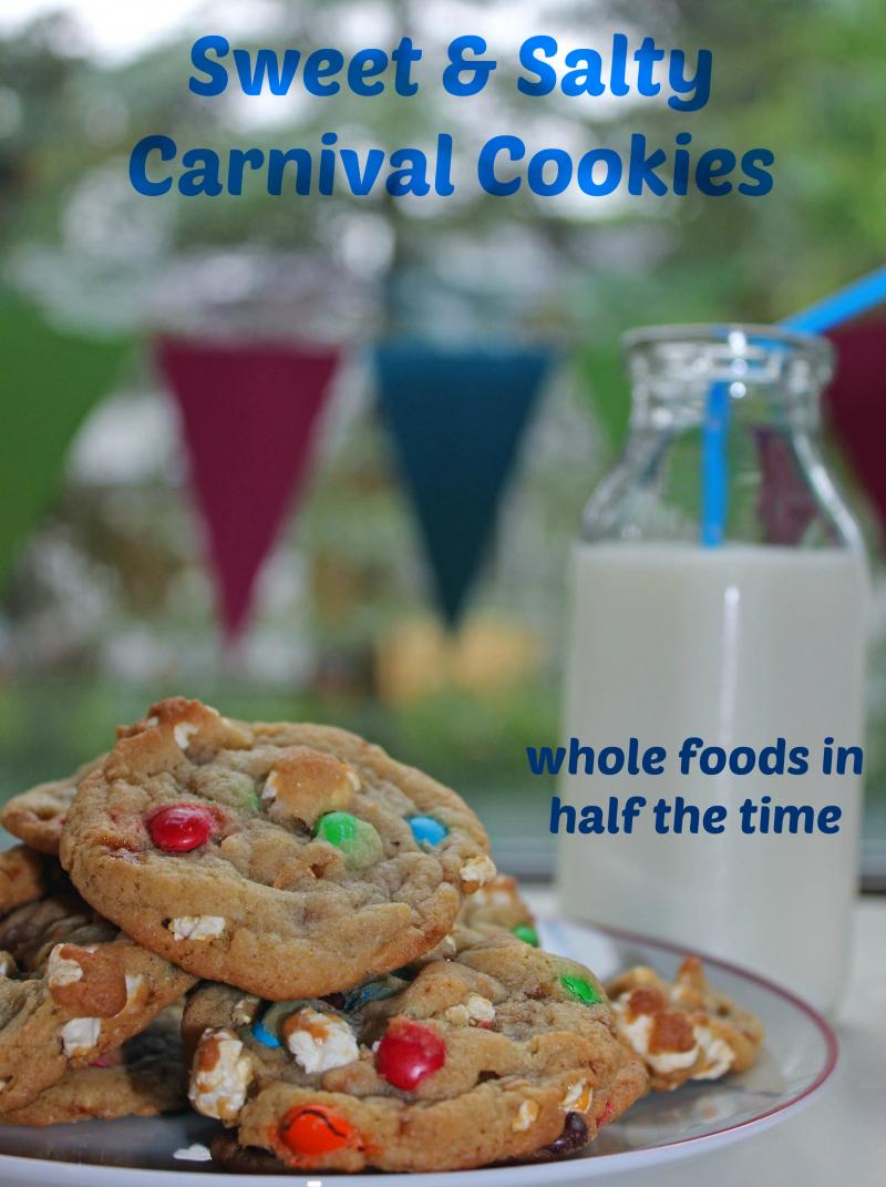 Sweet and Salty Carnival Cookies | YummyMummyClub.ca