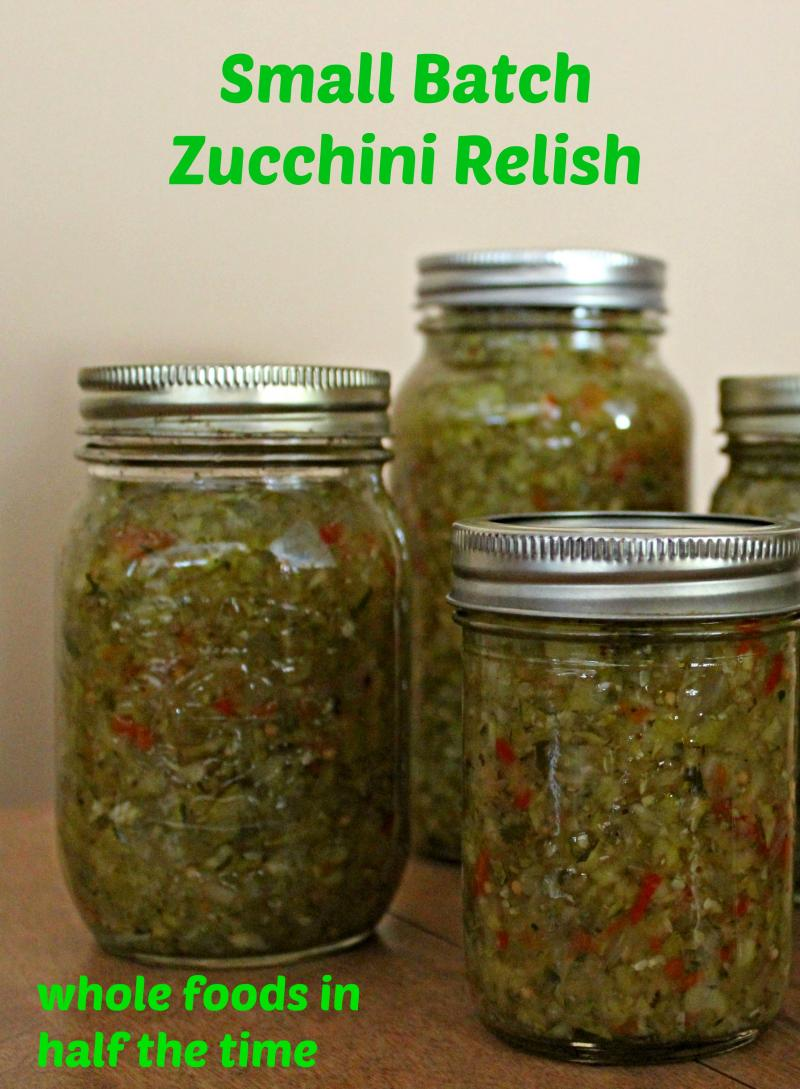 Preserve the Flavours of Fall with this Small Batch Zucchini Relish