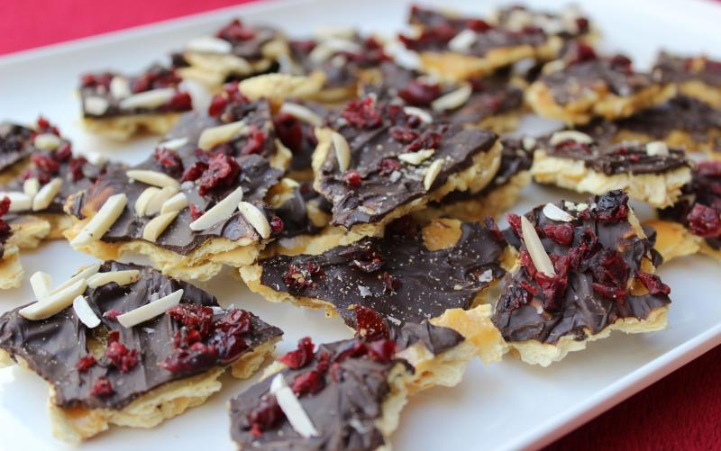 Salted Honey Holiday Bark