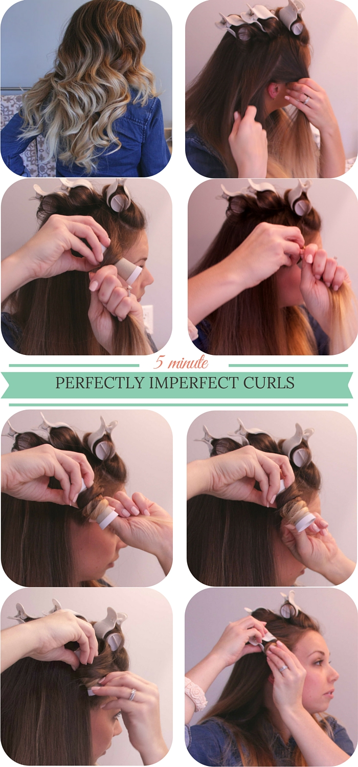 hot rollers for perfect curls