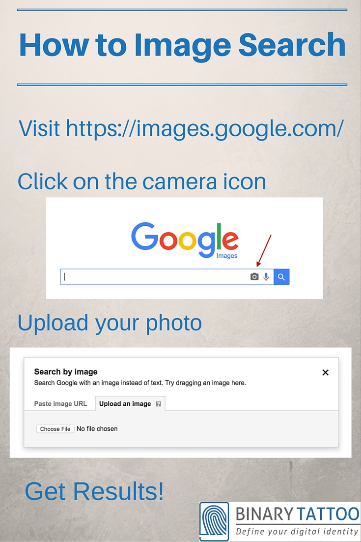 How to search your images on Google