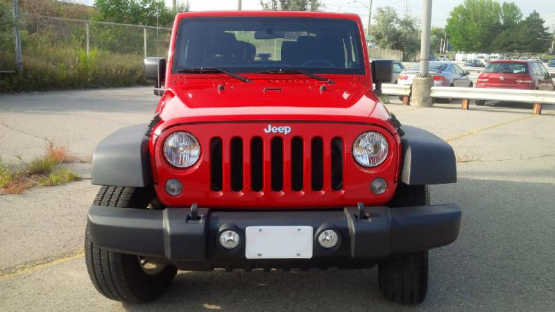 2014 Jeep Wrangler front grill