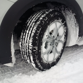 AWD winter tire