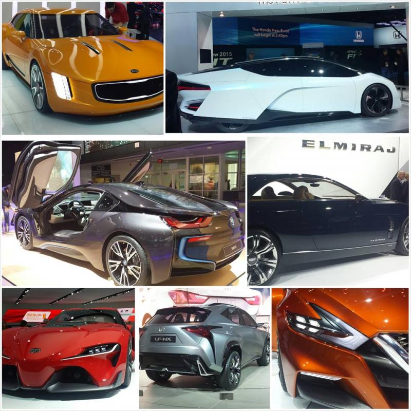 2014 NAIAS concept cars