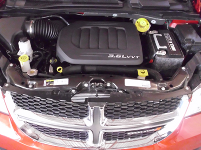 Dodge Caravan Engine Under Hood