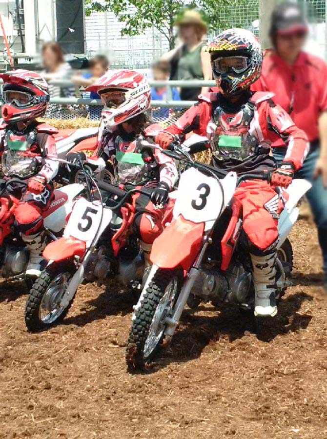 Junior Red Riders 110cc