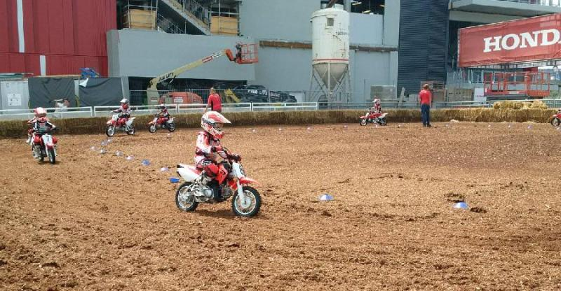 Junior Red Riders pitch