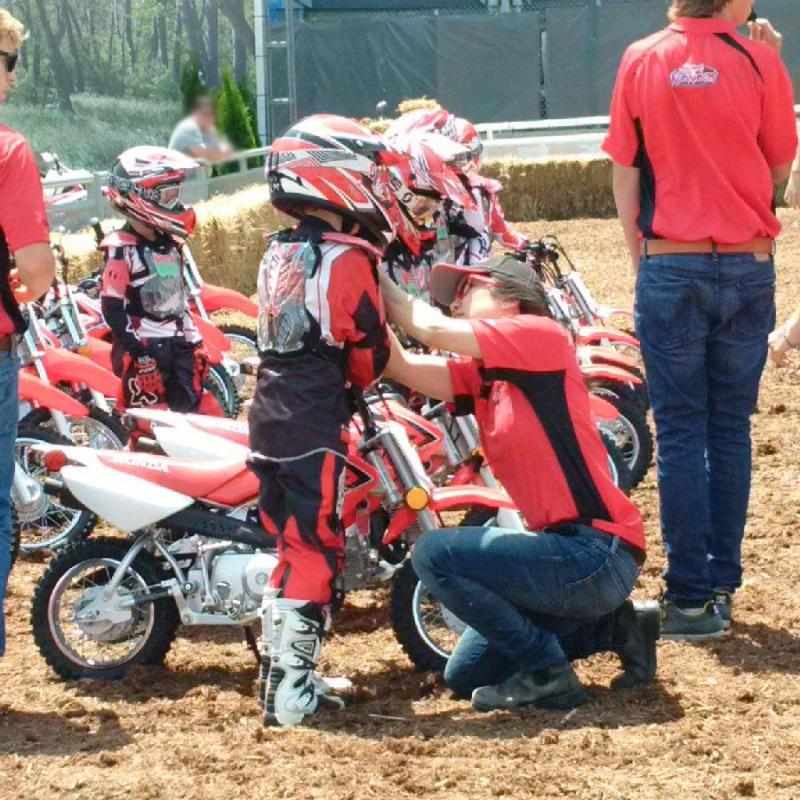 Junior Red Riders safety check