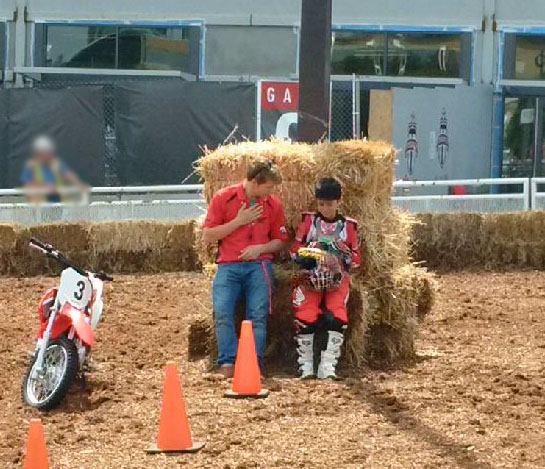 Junior Red Riders coaching