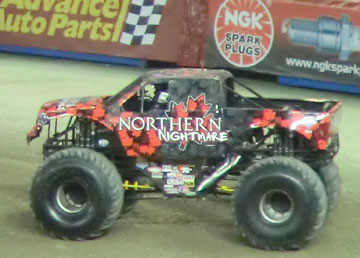 Our very own All Canadian Monster Truck team - Northern Nightmare