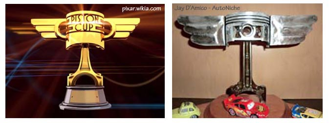 Disney's Piston Cup & Jay's version