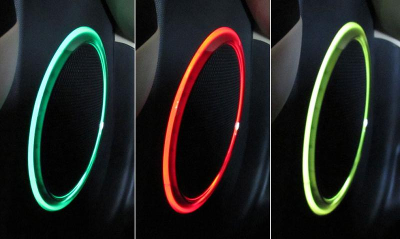 Car Accessory speaker lights