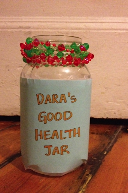good health deed jar