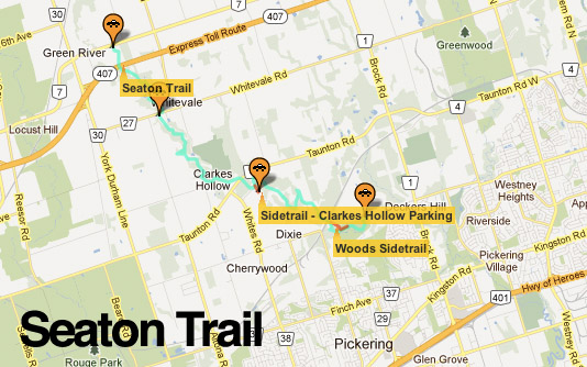 Seaton Trail Map