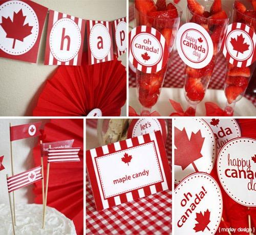 5 Tips For A Stress Free Canada Day Party :: YummyMummyClub.ca