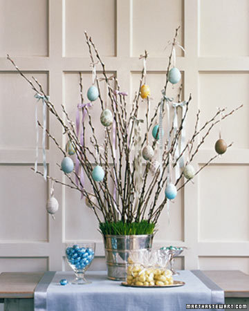 5 great easter egg decorating ideas - Easter egg tree decorations ...