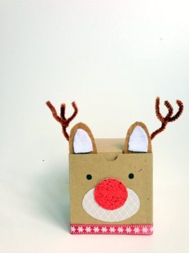 Reindeer Games Make These Cute Christmas Gift Boxes