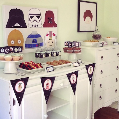 I Had Vowed Never To Have A Home Birthday Party Again But They Both Wanted Star Wars Theme Which Hoped Would Be Easy Host At