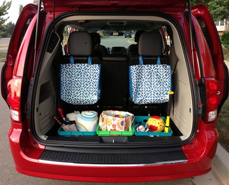How To Organize Your Minivan So It S Functional And