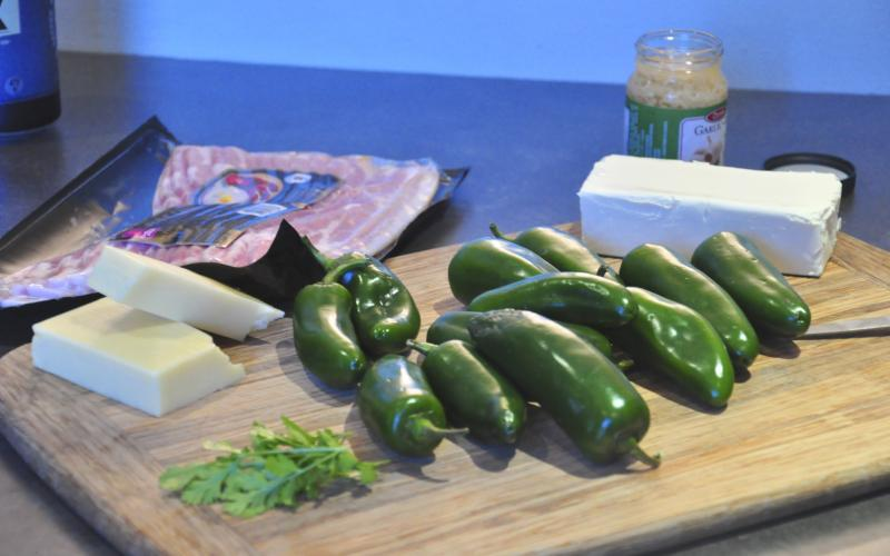 bacon, jalapenos, cream cheese stuffed jalapeños, cream cheese, cheese recipes, bacon recipes, delicious appetizers, appetizer recipes, Best Holiday Appetizers, Around The Table, katja wulfers